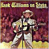 Hank Williams on Stage