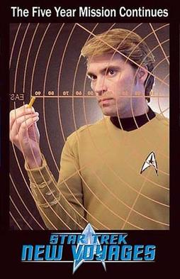 James Cawley as Kirk in Star Trek: Phase II.