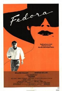 Film poster for Fedora - Copyright 1978, Unite...
