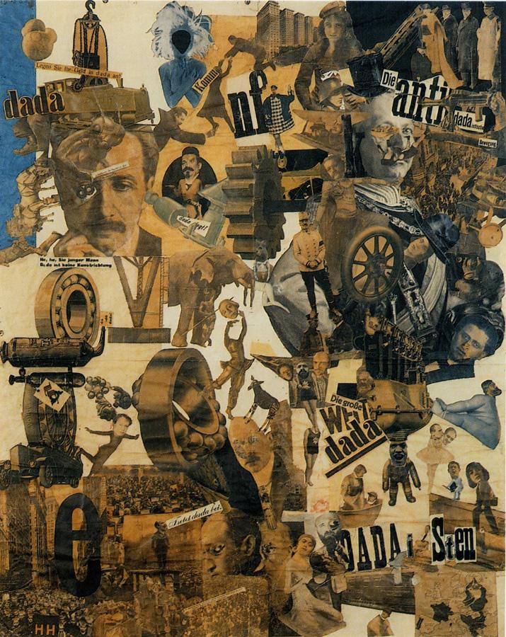 Uma obra de Hannah Hoch, já referida à indústria