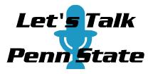Let's Talk Penn State