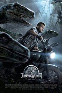 Poster for 2015 action-adventure film Jurassic World