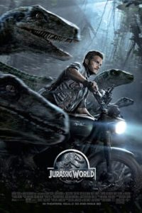 Poster for 2015 action-adventure film Jurassic World