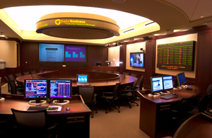 Financial market center