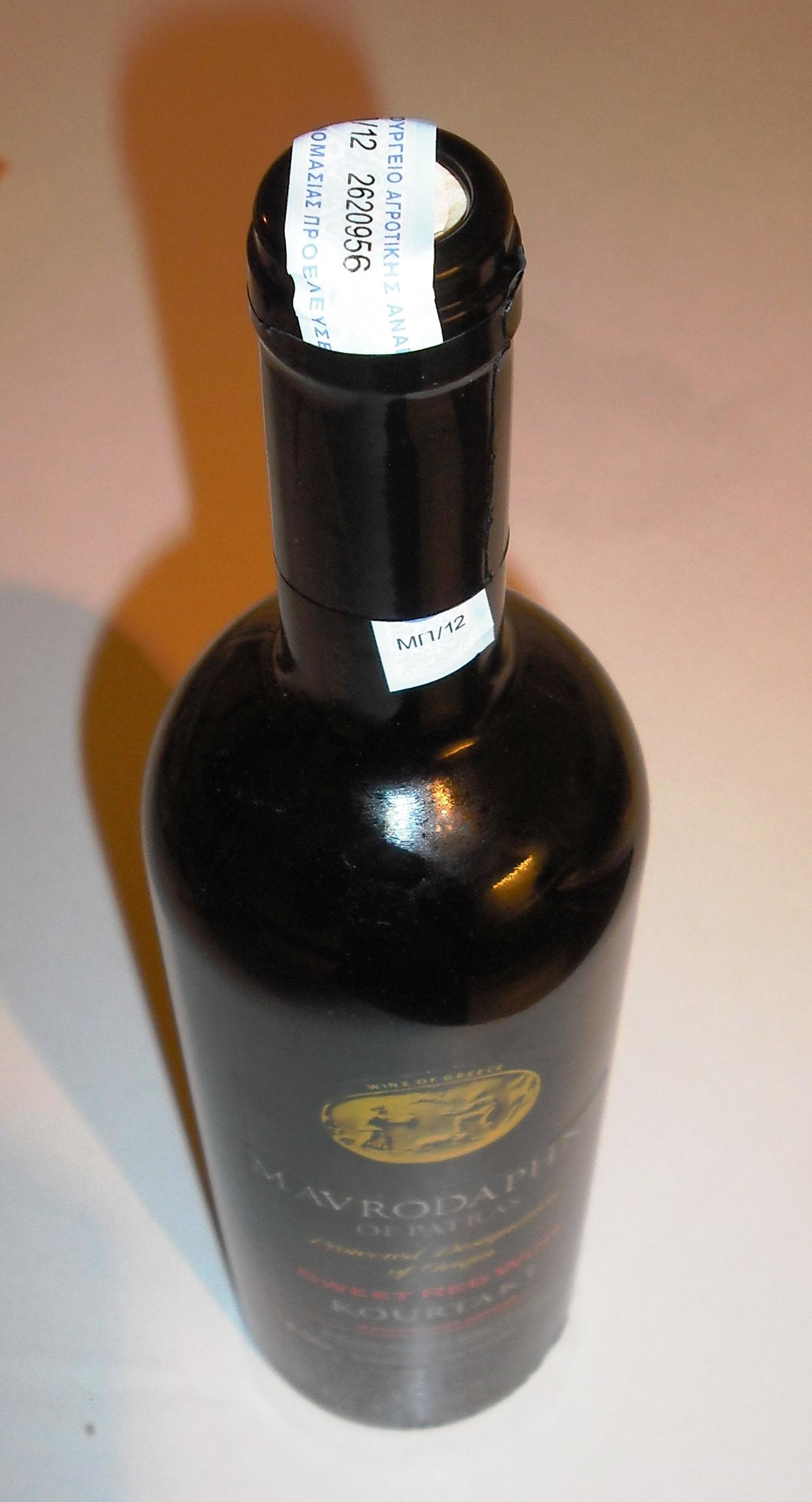 Average Wine Bottle Diameter