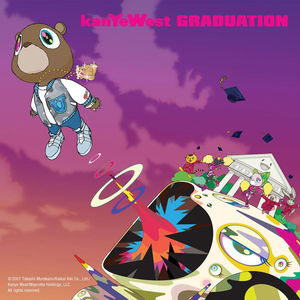 He is the artist who made the Kanye West bear, the cover of Graduation(see above), and his trippy website called Universecity.(LOL ITS UNVERSITY)