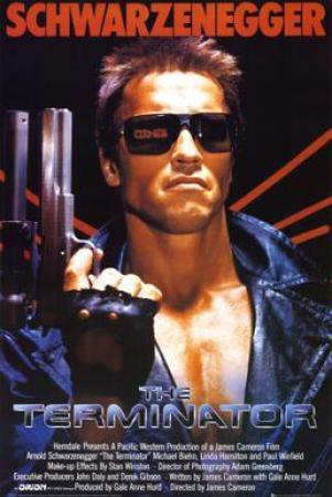The Terminator Movie Poster
