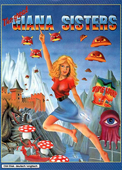 "Das Cover der originalen ""Giana Sisters"""