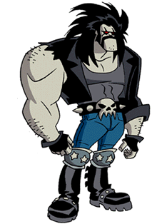 Lobo as he appears in Superman: The Animated S...