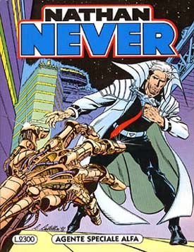 Cover for Nathan Never #1.
