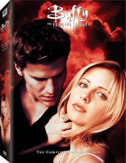 Buffy Season 2 DVD cover art.