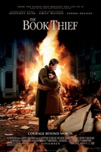 Poster for 2014 war drama The Book Thief