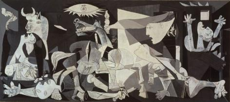 Picasso's Guernica. From Wikicommons.