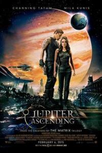 Poster for 2015 sci-fi Jupiter Ascending