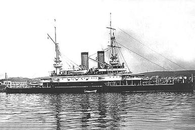Tri Sviatitelia (Russian: Три Святителя meaning the Three Holy Satellites) was a pre-dreadnought battleship built for the Imperial Russian Navy during the 1890s.