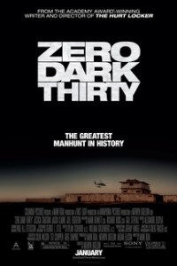 Poster for 2013 thriller Zero Dark Thirty