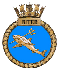 Crest of HMS Biter