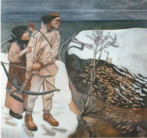 Joukahainen's wraak (Gallen-Kallela)