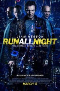 Poster for 2015 action film Run All Night