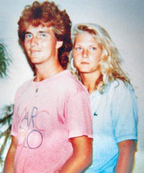 Urban Höglin and Heidi Paakkonen