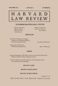 Harvard Law Review  Wikipedia