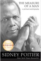 Image of the 2007 book cover of Poitier's book, The Measure of a Man
