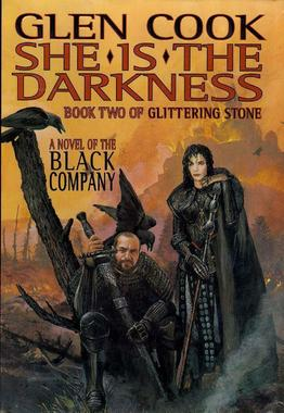 "Cover art for ""She Is the Darkness"" by Glen Cook"