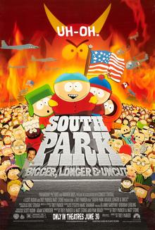 south park bigger longer