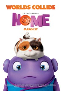 Poster for 2015 animated comedy Home