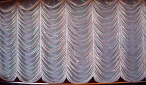 An Austrian curtain.