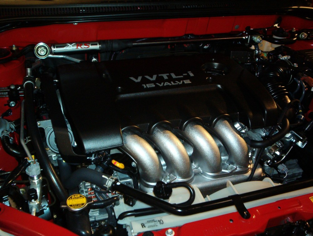 medium resolution of the 2zz ge engine the first to feature vvtl i