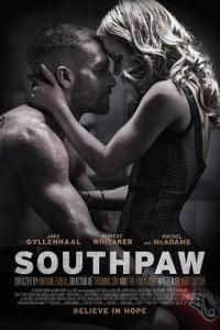 Poster for 2015 sports drama Southpaw