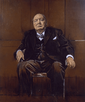 Graham Sutherland Winston Churchill : graham, sutherland, winston, churchill, Sutherland's, Portrait, Winston, Churchill, WikiVisually