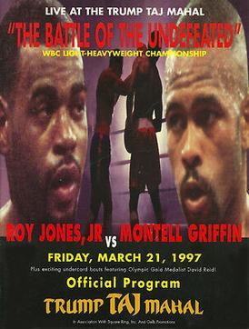 Roy Jones Jr vs Montell Griffin  Wikipedia