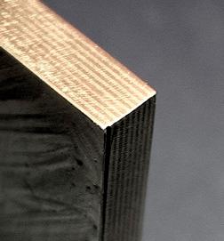 Mokume-gane brass/copper billet