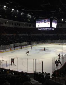 San diego gulls pregame in october after renovations with arena hockey configuration also pechanga wikipedia rh enpedia