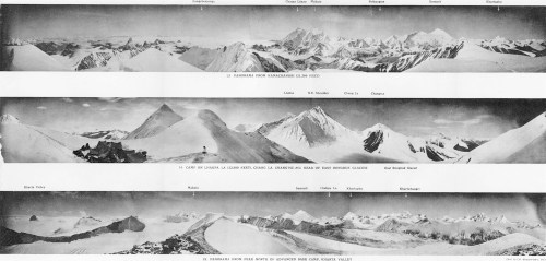 small resolution of mount everest panoramas taken on the 1921 expedition