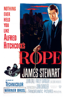 Hitchcock Rope poster
