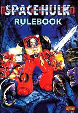 Book cover, Space hulk Rule book