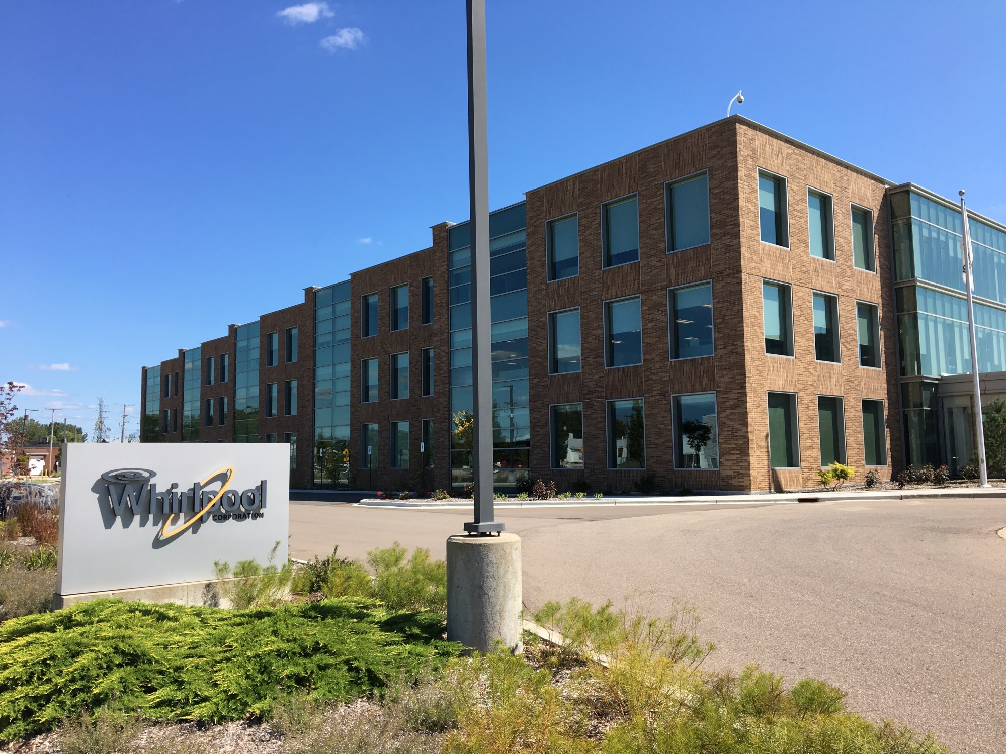 hight resolution of whirlpool corporation s riverview campus in benton harbor michigan