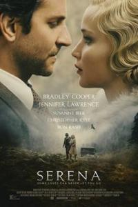 Poster for 2014 drama film Serena