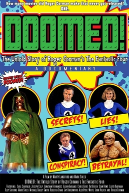 Doomed!: The Untold Story of Roger Corman's The Fantastic Four - Wikipedia