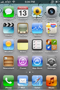 IOS 5 home screen Iphone 5s Wallpapers