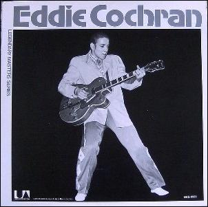 Eddie_Cochran_LP_UAS9959 Would Eddie have been bigger than Elvis?