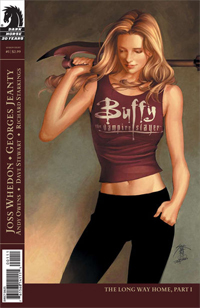 Buffy appears in literature such as the Buffy ...