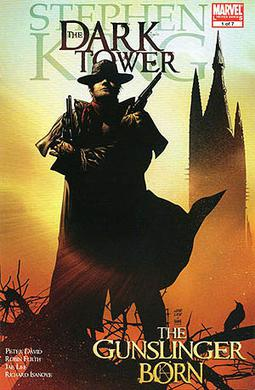 Roland on the cover of the comic The Dark Towe...