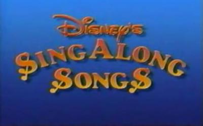 Disney Sing Along Songs Wikipedia
