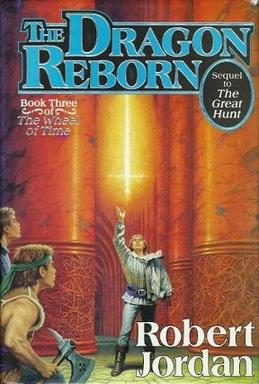 Paperback edition cover of The Dragon Reborn