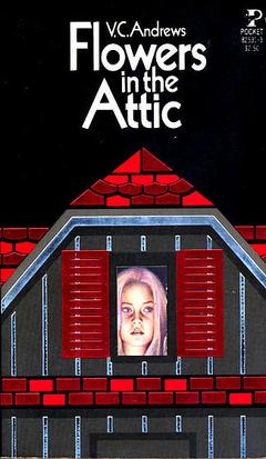 A book cover of Flowers in the Attic 1st Edition