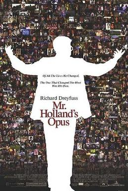 Film poster for Mr. Holland's Opus - Copyright...